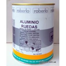 ROBERLO  Фарба  для дисків 1К алюміній 1л