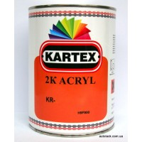 KARTEX 2K acryl LADA Orange 0,8л