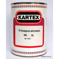 KARTEX 1K alkyd Червона 1015 0,8л.