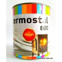 056009  Термо - фарба TERMOSTAL 600 PROFI срібна 0,75л.