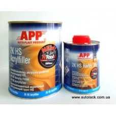 APP 2K - HS - Acryfiller 5:1Грунт акриловий 2 - комп  білий 1 л.
