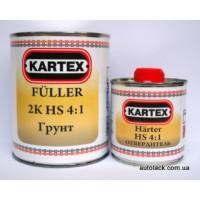 KARTEX  грунт сірий 4+1 (0,8+0,2)к-кт