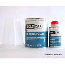 GOLD CAR Base Грунт акриловий 2К HS 5 + 1 Білий