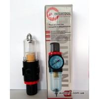 PT-1412 Фільтр для пневмосистеми  вологовідштовхувач+редуктор1\4