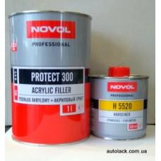 Novol PROTECT Грунт 4+1 2K 1L+0.25L МS 300 чорний