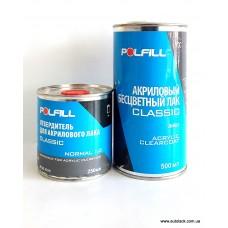 Лак 2К 2:1 HS Classik Polfill 1.0 л + затв. 0,5l