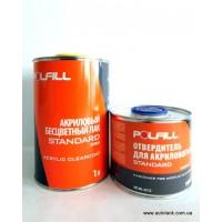 Лак 2К 2:1 MS Standart Polfill 1.0 л + затв. 0,5l