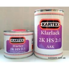 KARTEX Лак HS 2+1(1.0+0.5) к-кт