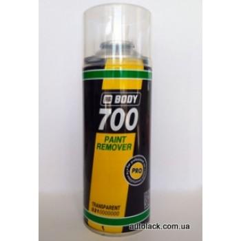 Body 700 Змивка фарби аероз.  400 мл.