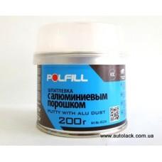 Polfill  Шпатлівка з алюмінієм Polfill з зат. 0.2кг