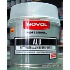 Novol шпатлівка з алюмінієм   (750гр)
