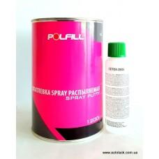 Polfill Шпатлівка розпилююча з зат. 1,2 кг.