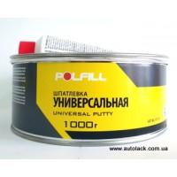 Шпатлівка універсальна Polfill з зат. 1.0кг