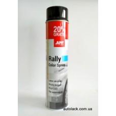 APP Rally Color  фарба акр. чорний глянець 600ml