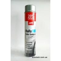 APP Rally Color  фарба акр. срібний 600ml