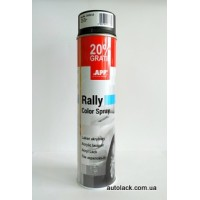 APP Rally Color  фарба акр. чорий. мат 600ml